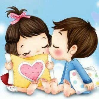 cute Love Dp Wallpaper : Trop mignon *Merci revedesatin*